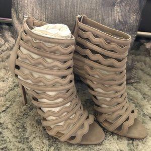 Prada Women's Cage Platform Sandals